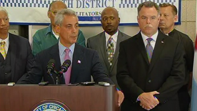 Rahm, McCarthy Say Foot Patrols Are Working