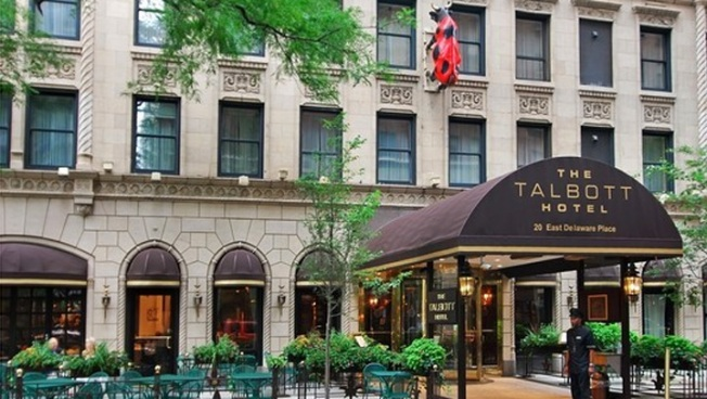 Talbott Hotel Snags Top Orbitz Award