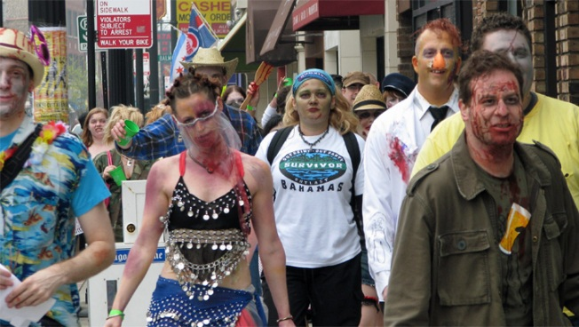Zombie Pub Crawl to Take Over Andersonville