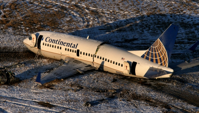 Strange Noises Heard on Jet-Crash Tape