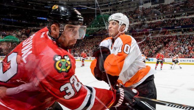Blackhawks Lose Fourth Straight as Flyers Win 3-2