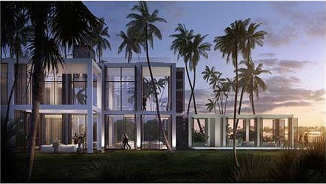 Unfinished Miami Home Lists For $40M