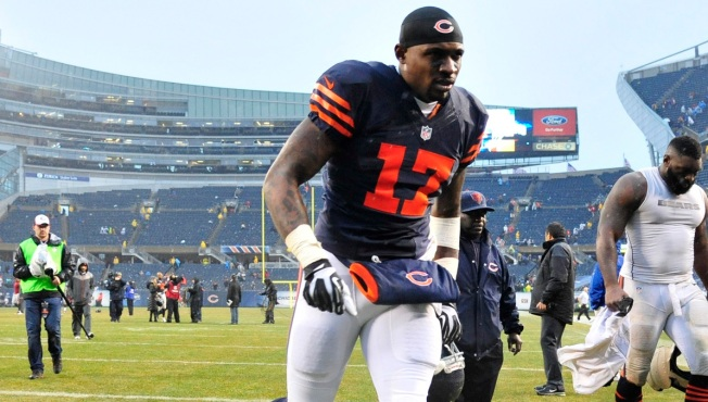 Bears Place Franchise Tag on Alshon Jeffery