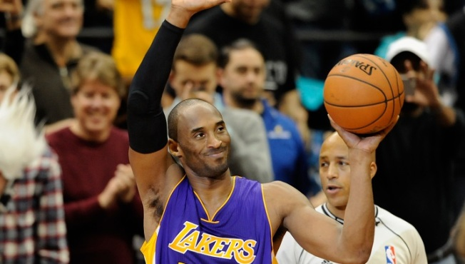 Kobe Surpasses Jordan on NBA's All-Time Scoring List