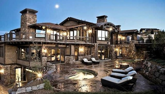 """Ski Dream House"" Attracts A-Listers To Park City, Utah"