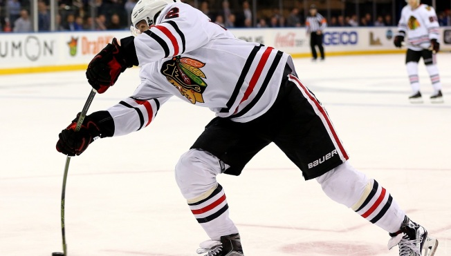 Panarin's Hat Trick Pushes Blackhawks Past Rangers
