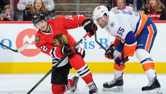 Blackhawks' Offense Sputters in 4-1 Loss to Capitals Thursday