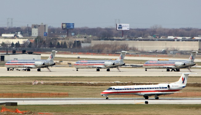 Chicago Airport Take-offs Take Downturn