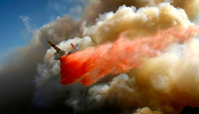 San Diego Wants Old Military Planes to Fight Wildfires