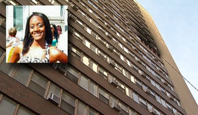 Mother of High-Rise Fire Victim Files Lawsuit
