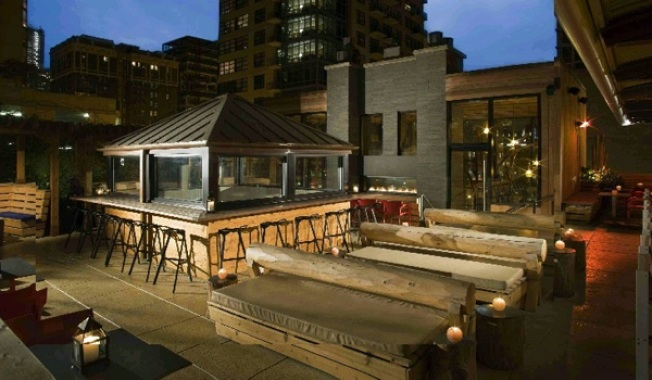 Nosh Away on the Rooftop