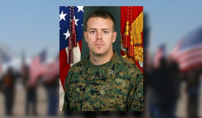 Fallen Marine from Crystal Lake to be Laid to Rest