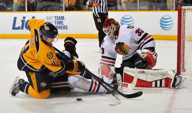 Blackhawks Score Come From Behind Victory Over Predators
