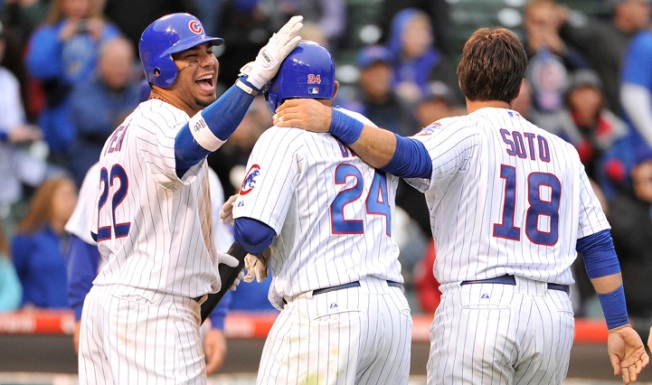 Byrd Lifts Cubs Over Astros in 12th
