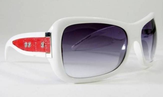 Jee Vice Sassy White Sunglasses