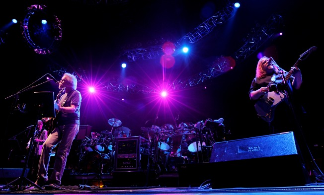 Grateful Dead Fans Hope to Camp at Soldier Field