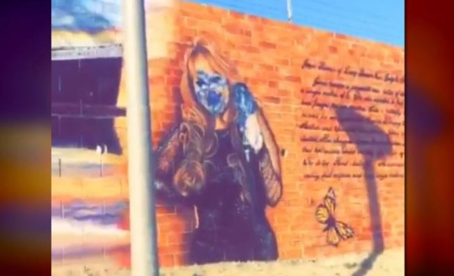 Jenni Rivera Mural Vandalized in Long Beach