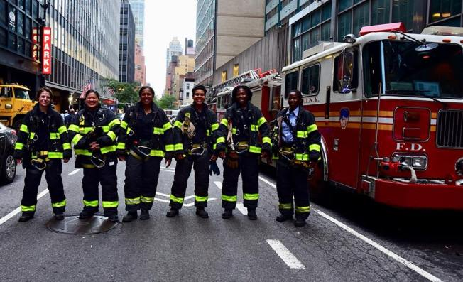 First All-Women NYC Fire Engine Detailed to Manhattan Firehouse