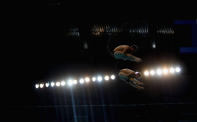 China take men's 10m synchronised diving gold