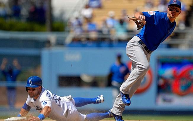 Dodgers Beat Cubs