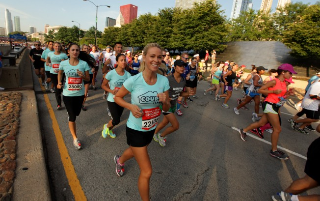 Kate Gosselin Runs Rock 'n' Roll Half Marathon