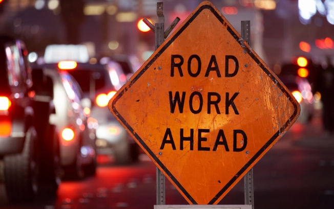 Road Work Takes the Weekend Off