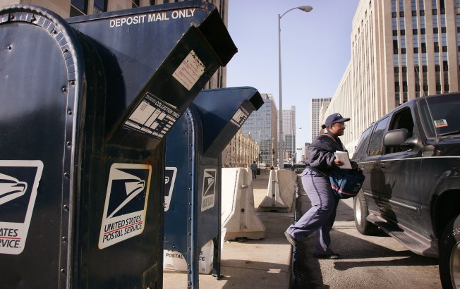"""Overwhelmed"" Postal Worker Dumps Mail"