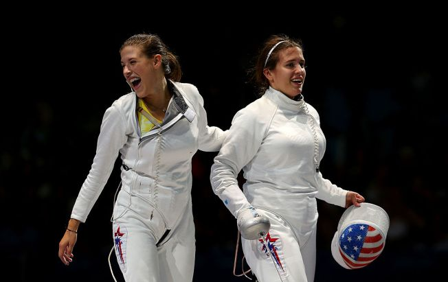 Hurley Sisters Look to Conquer Fencing and Sibling Rivalry at Olympics
