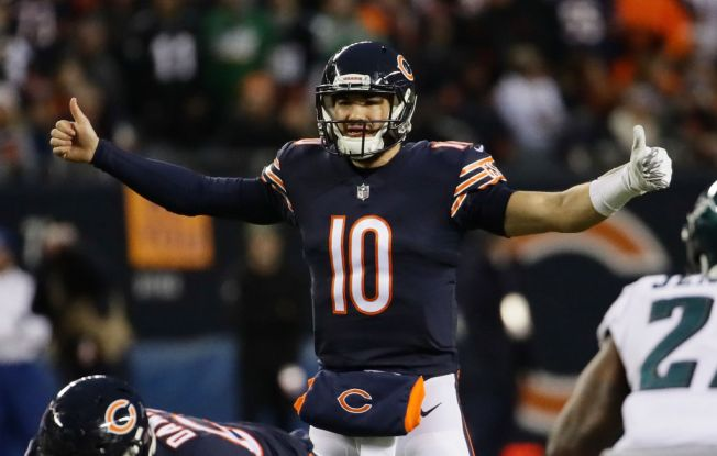 Bears' Mitch Trubisky Named to 2019 Pro Bowl to Replace Rams Quarterback