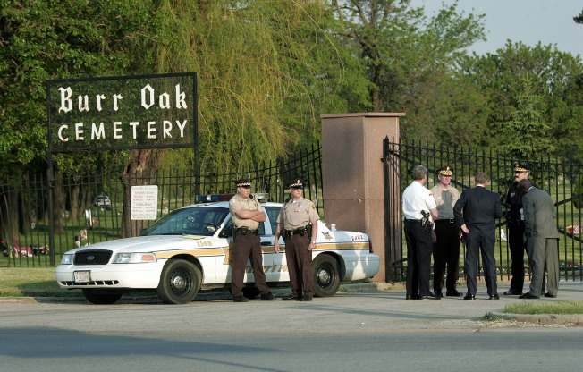 Burr Oak Cemetery Turned Over to Trustee