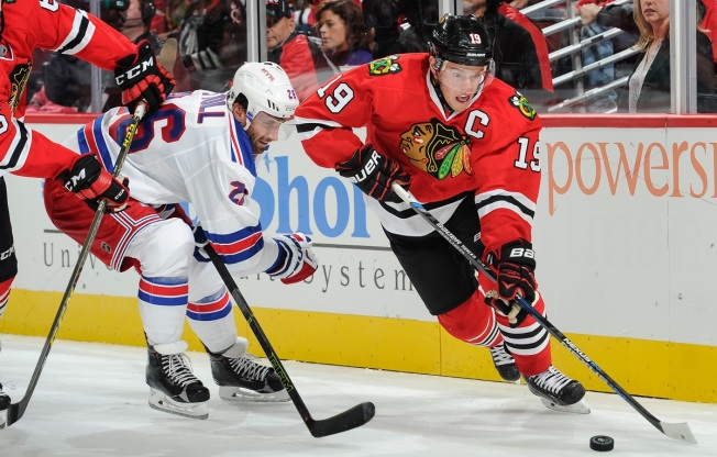 Rangers Hold on for 3-2 Victory Over Blackhawks
