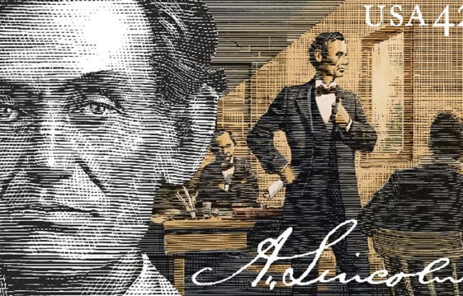 Lincoln's 200th Gets Stamp of Approval