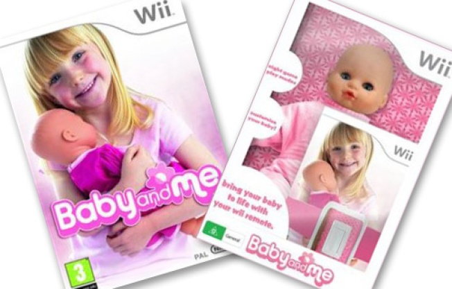 Wii Baby Is the Creepiest Wii Accessory Yet