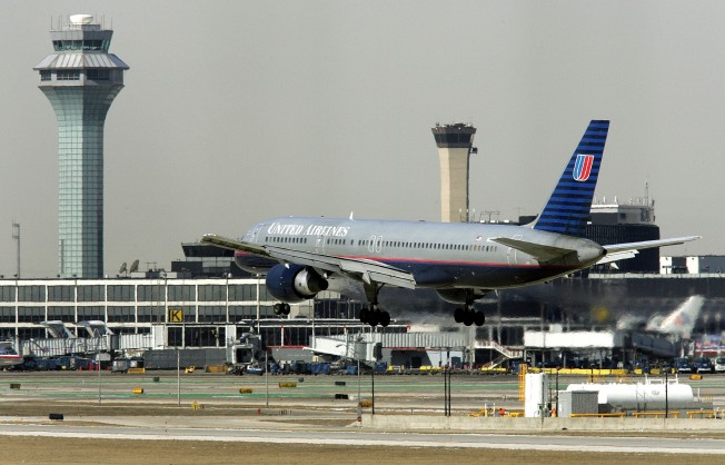 Two Sue United Over O'Hare Runway Skid
