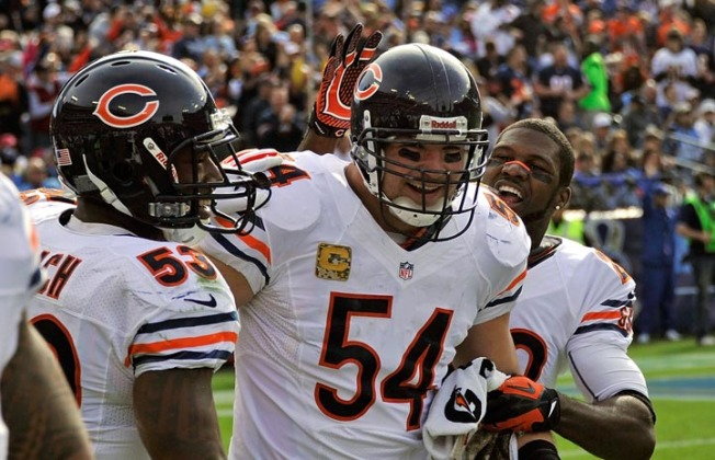 Urlacher, Cutler Relationship Shows No Sign of Improving