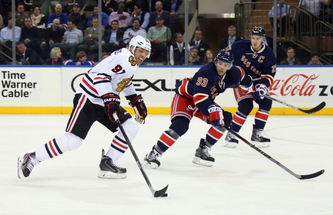 Darling Picks Up Shutout as Blackhawks Best Rangers in 1-0 Duel