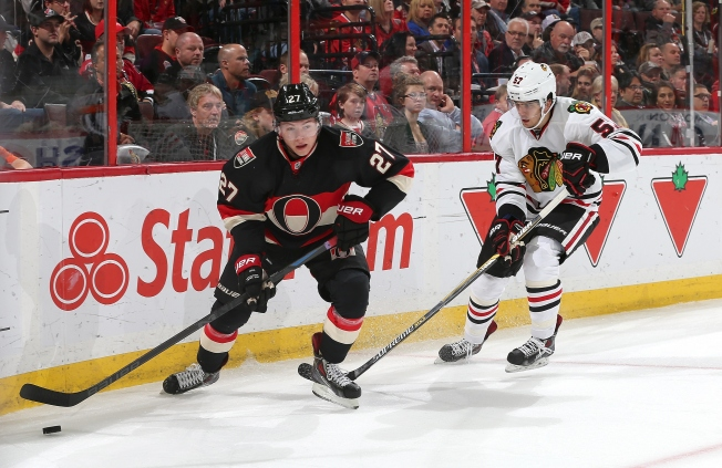 Sharp Shootout Score Sends Hawks to 5-4 Win