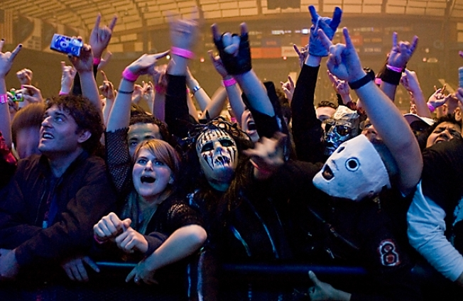 Slipknot Doesn't Leave Chicago Hanging