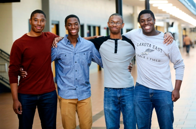 Ohio Quadruplet Brothers Accepted at Ivy League Universities