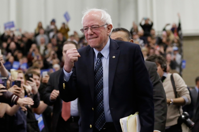 Bernie Sanders to Meet With Rev. Jesse Jackson in Chicago