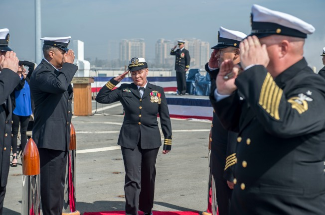 Warship's Commanding Officer Requests to Be Relieved of Duty Due to 'Issue'