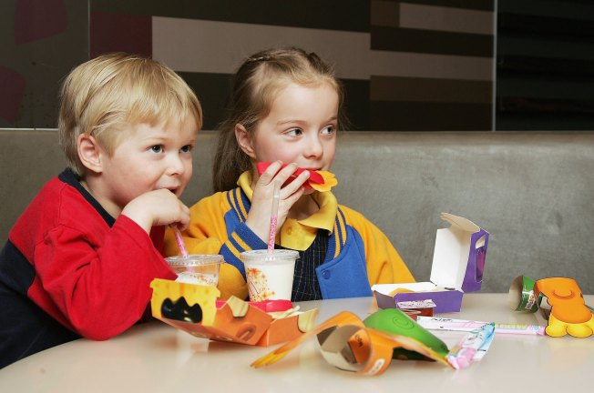 Group to Sue McDonald's Over Happy Meal Toys