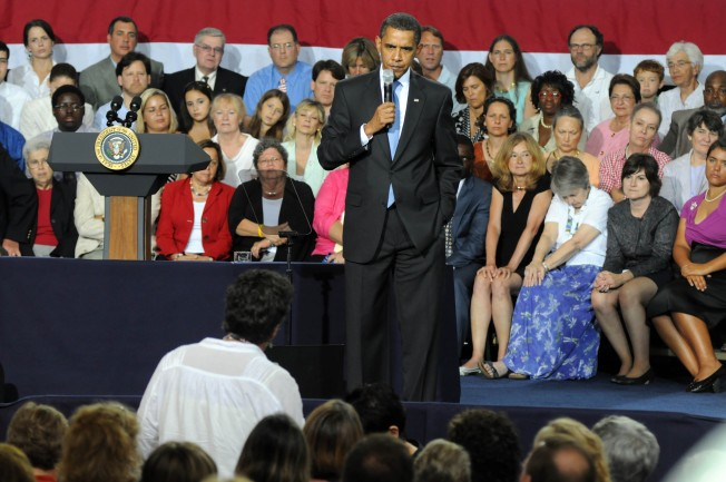 Obama's Senior Moment: An Age-Old Headache