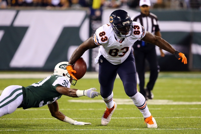 Martellus Bennett Limited in Practice Thursday with Rib Injury