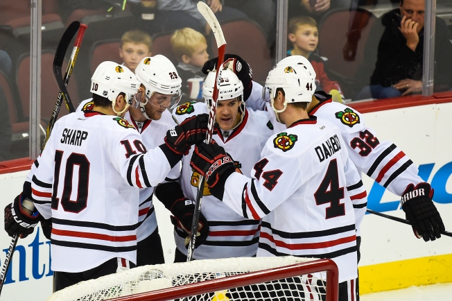 Blackhawks Score 3-2 Win Over Devils Tuesday