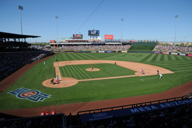 Cactus League Journal: Sloan Park a Vibrant Mix of Old and New