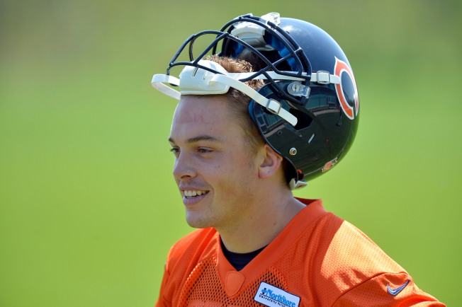Bears Elevate QB David Fales From Practice Squad