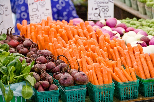 Carrots are 24-Karat at the Green City Market