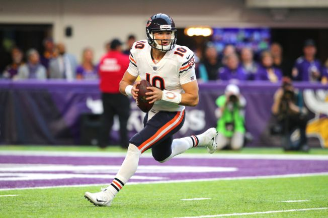 faef5a685f8 Chicago Bears QB Mitchell Trubisky Owns One of NFL's Top-Selling Jerseys