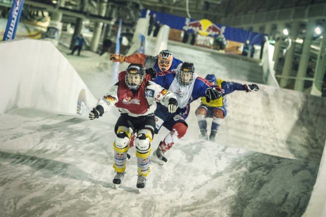 Tune in for Round Two of Red Bull Crashed Ice